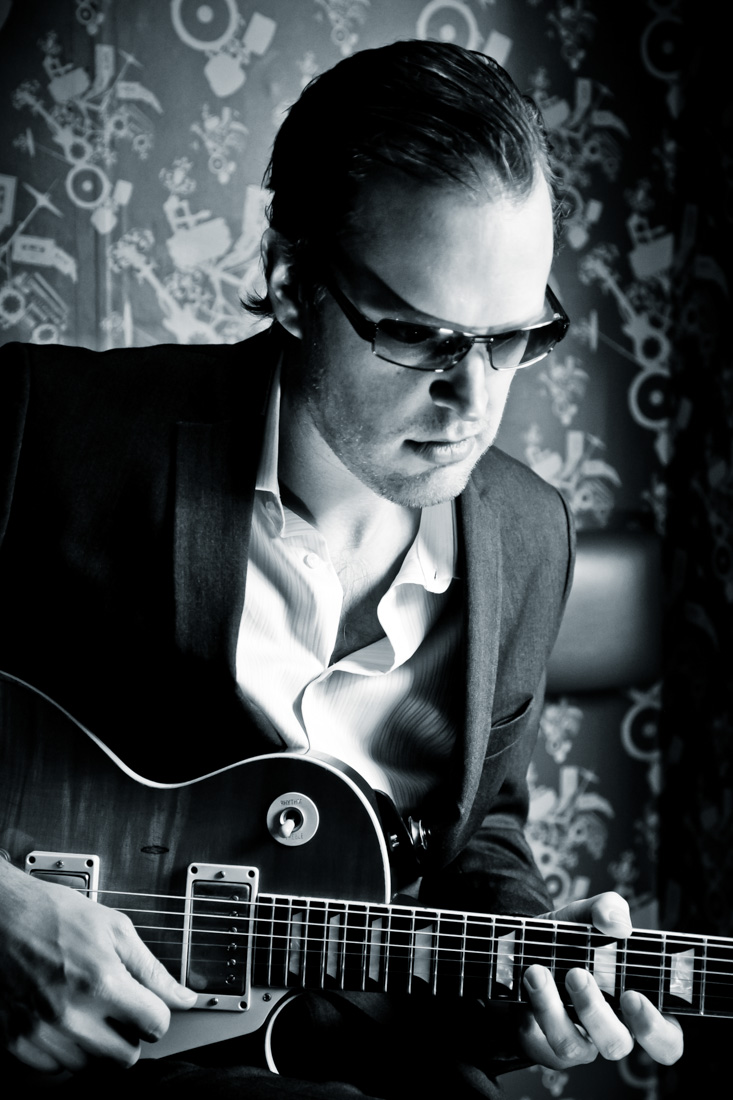 Joe Bonamassa portrait by Christie Goodwin