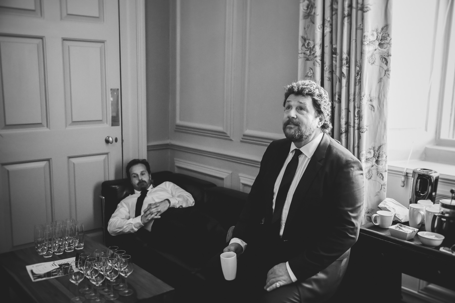 Alfie Boe and Michael Ball backstage by Christie Goodwin