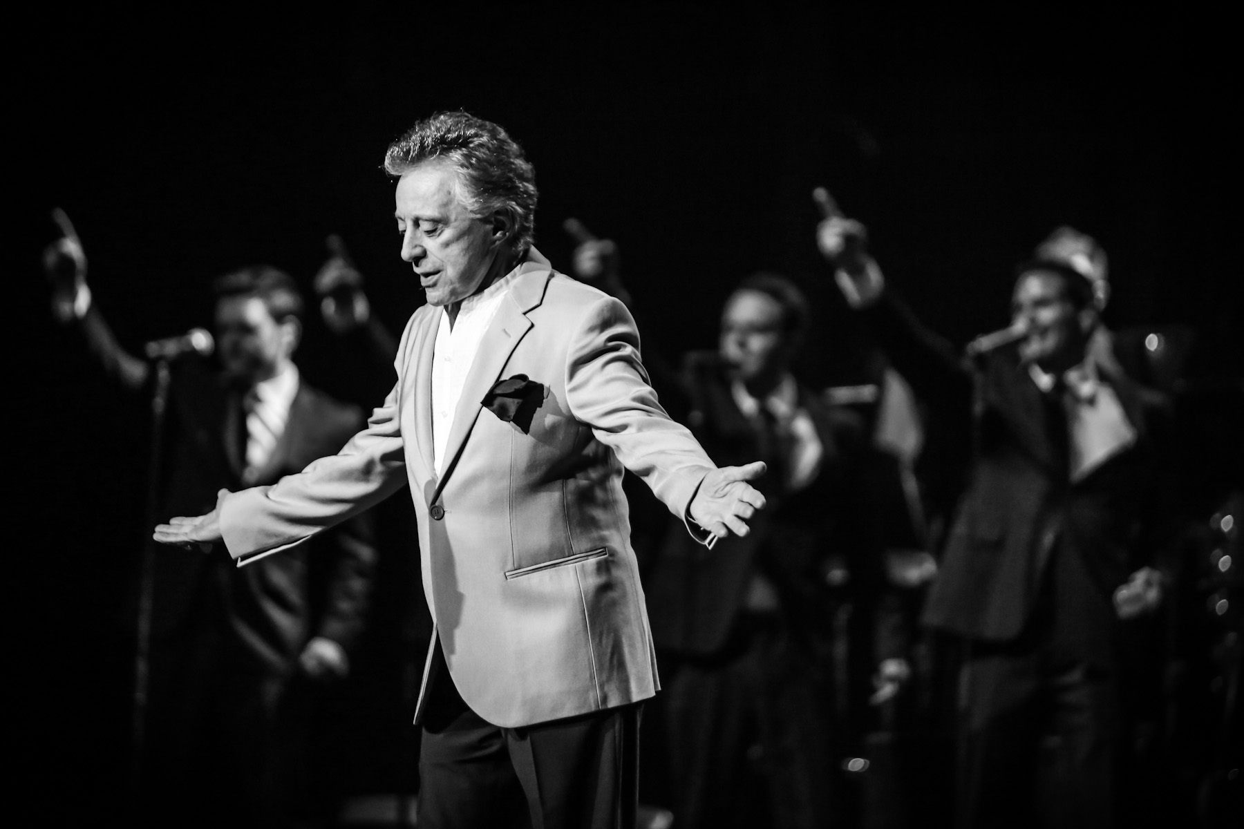 Frankie Valli at the Royal Albert Hall by Christie Goodwin