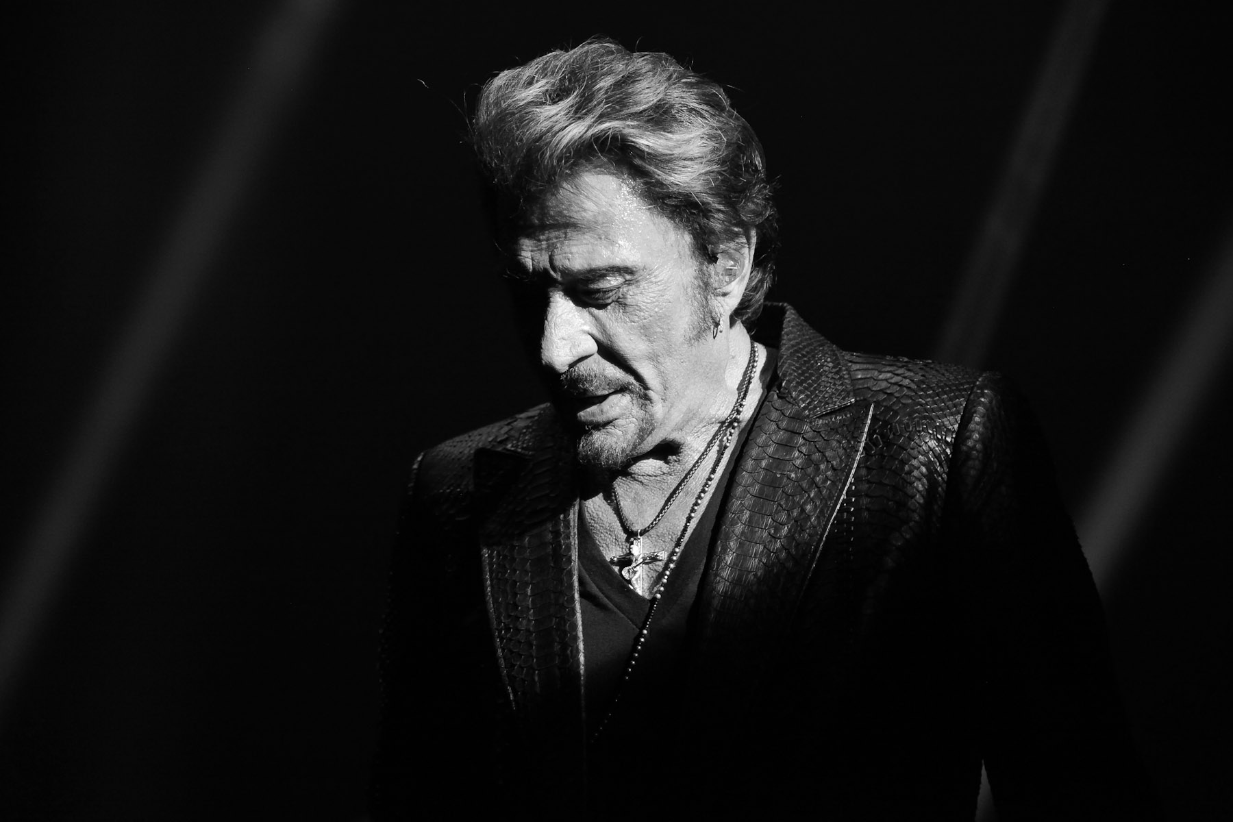 Johnny Hallyday at the Royal Albert hall by Christie Goodwin