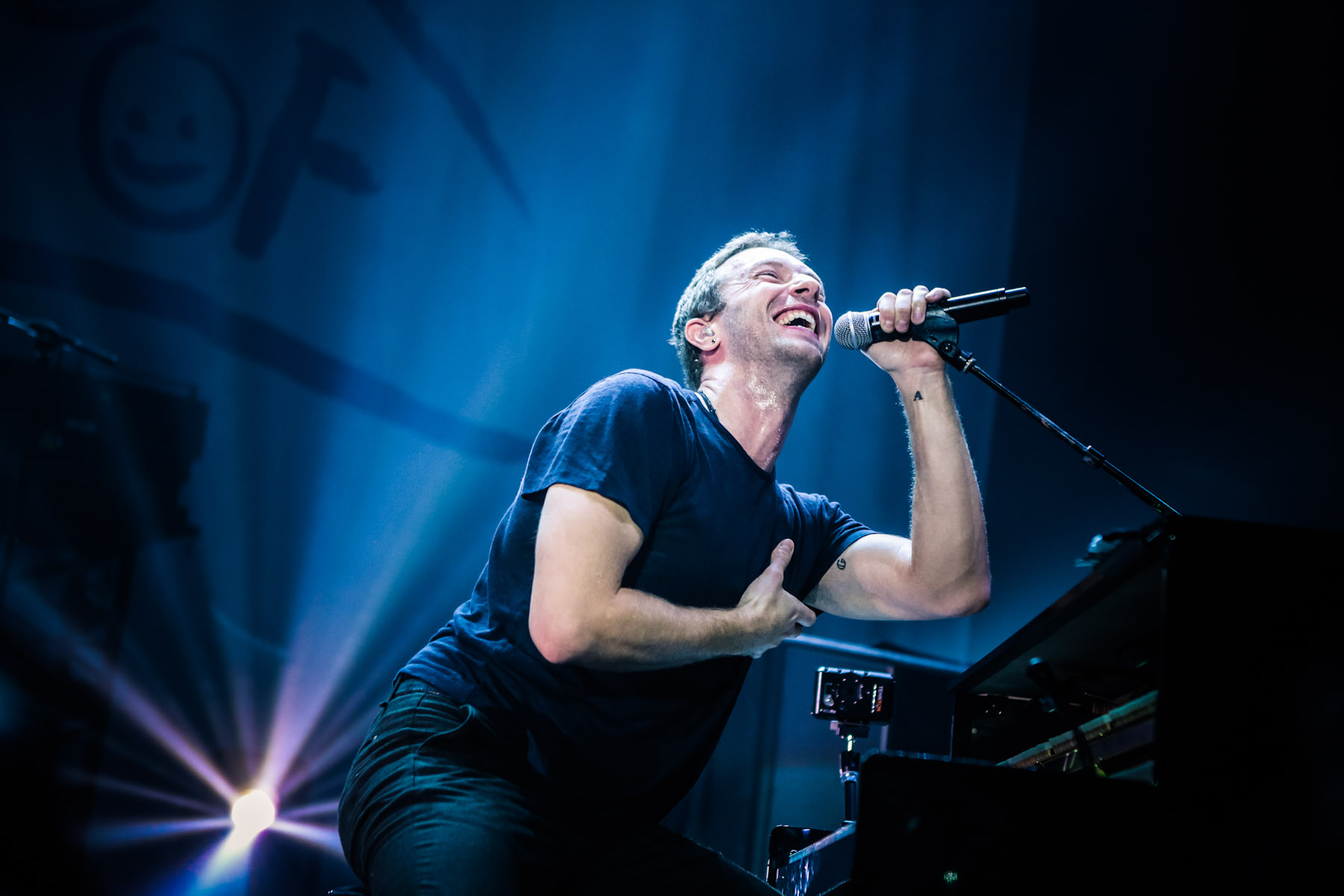 Coldplay at Hammersmith by Christie Goodwin
