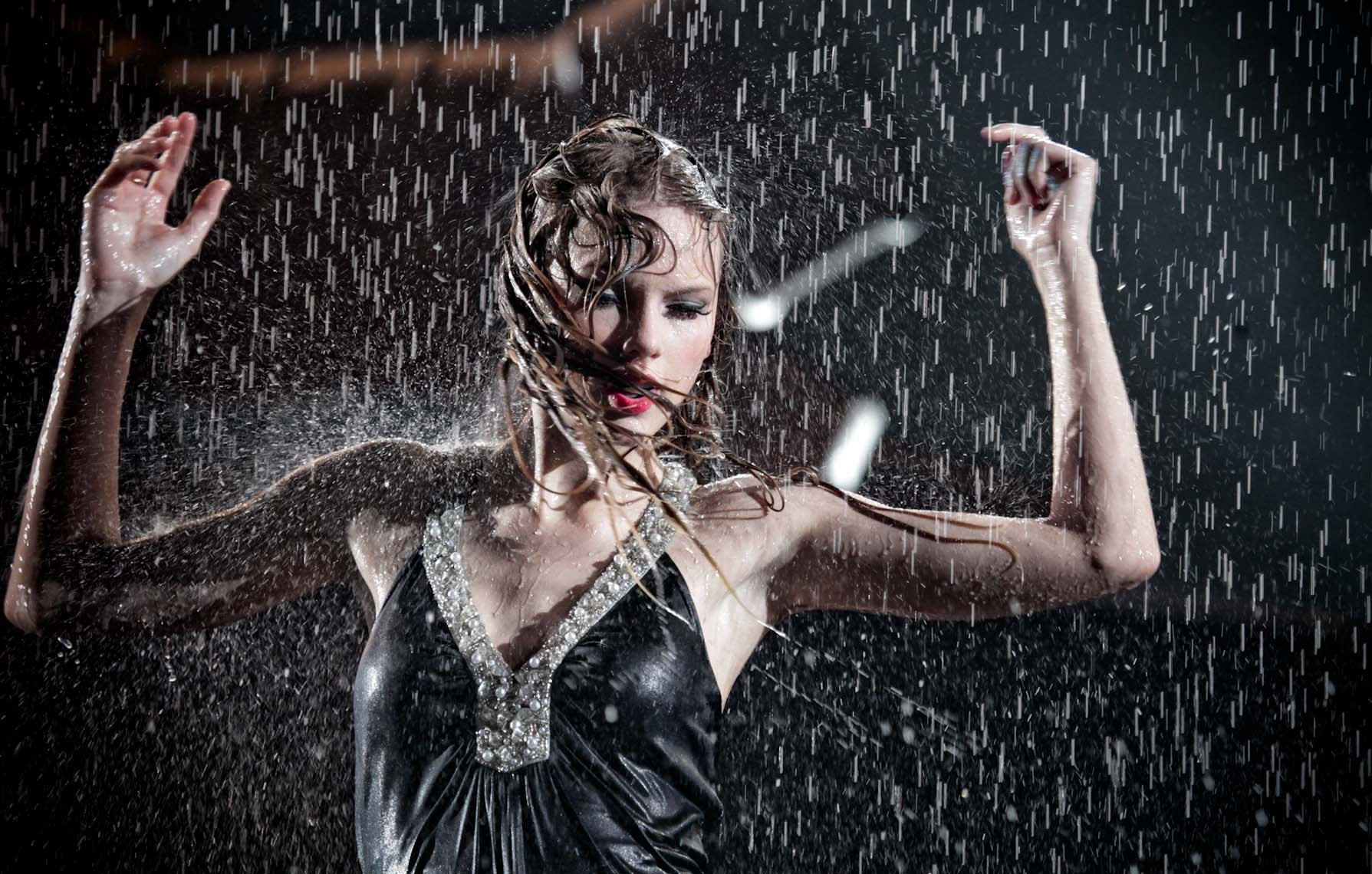 Taylor Swift Rain by Christie Goodwin