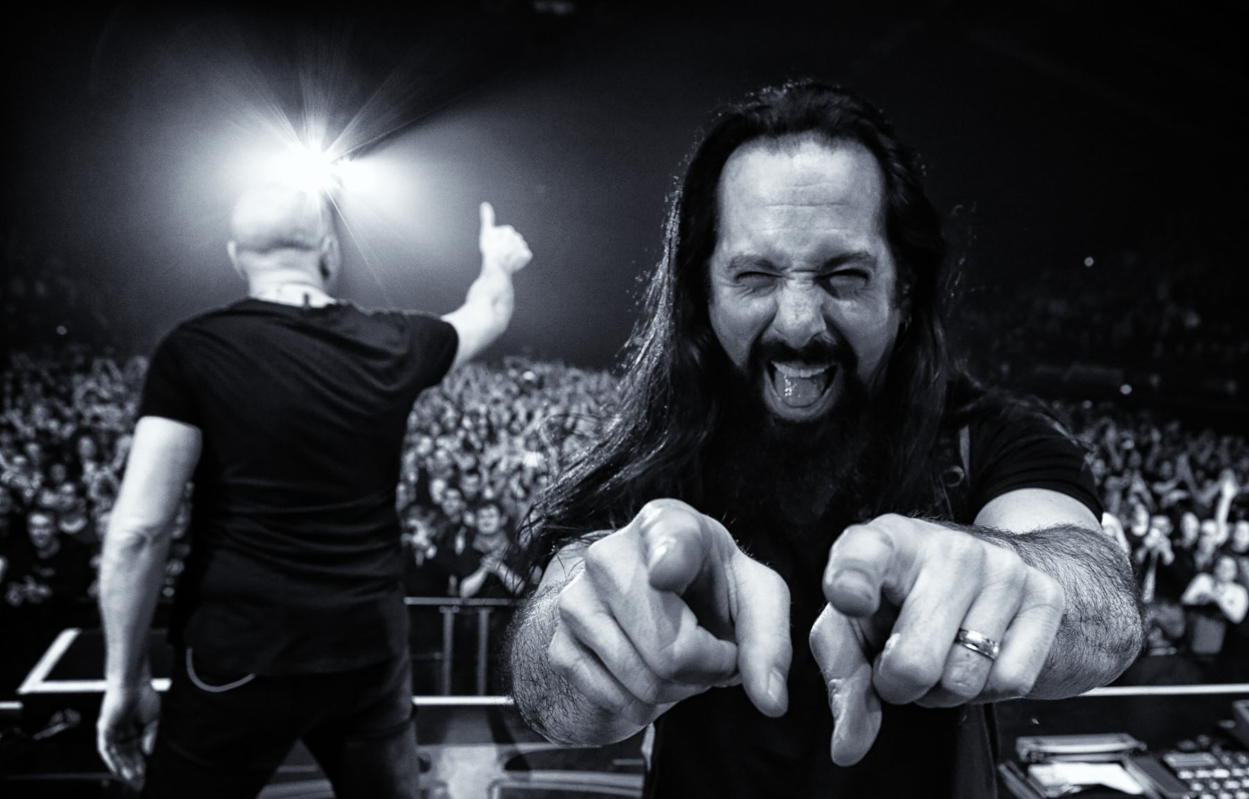 John Petrucci of Dream Theater in London by Christie Goodwin