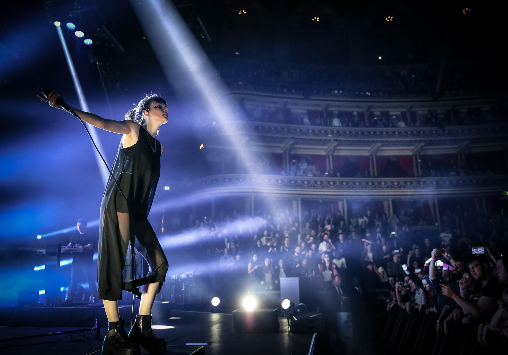Chvrches at the Royal Albert Hall by Christie Goodwin