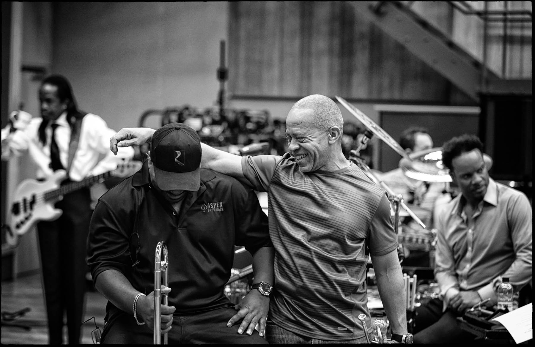 Earth Wind & Fire rehearsal at Abbey Road by Christie Goodwin
