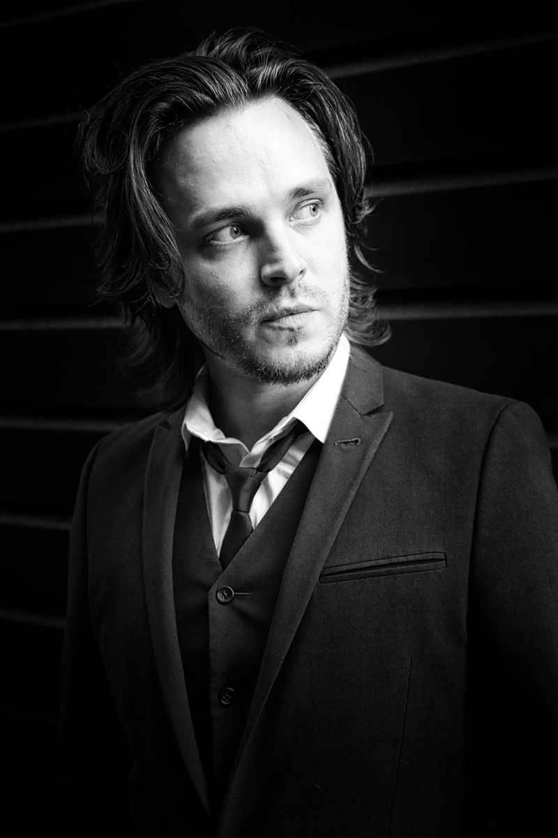 Jonathan Jackson portrait by Christie Goodwin