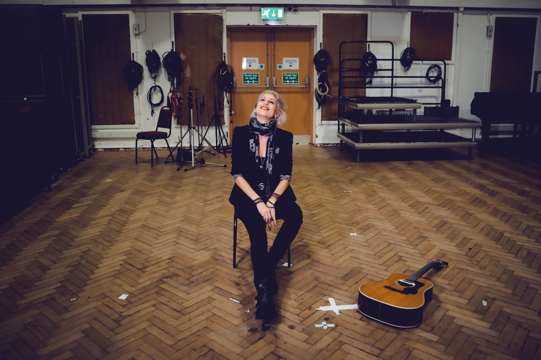 Gaelle Buswell at Abbey Road by Christie Goodwin