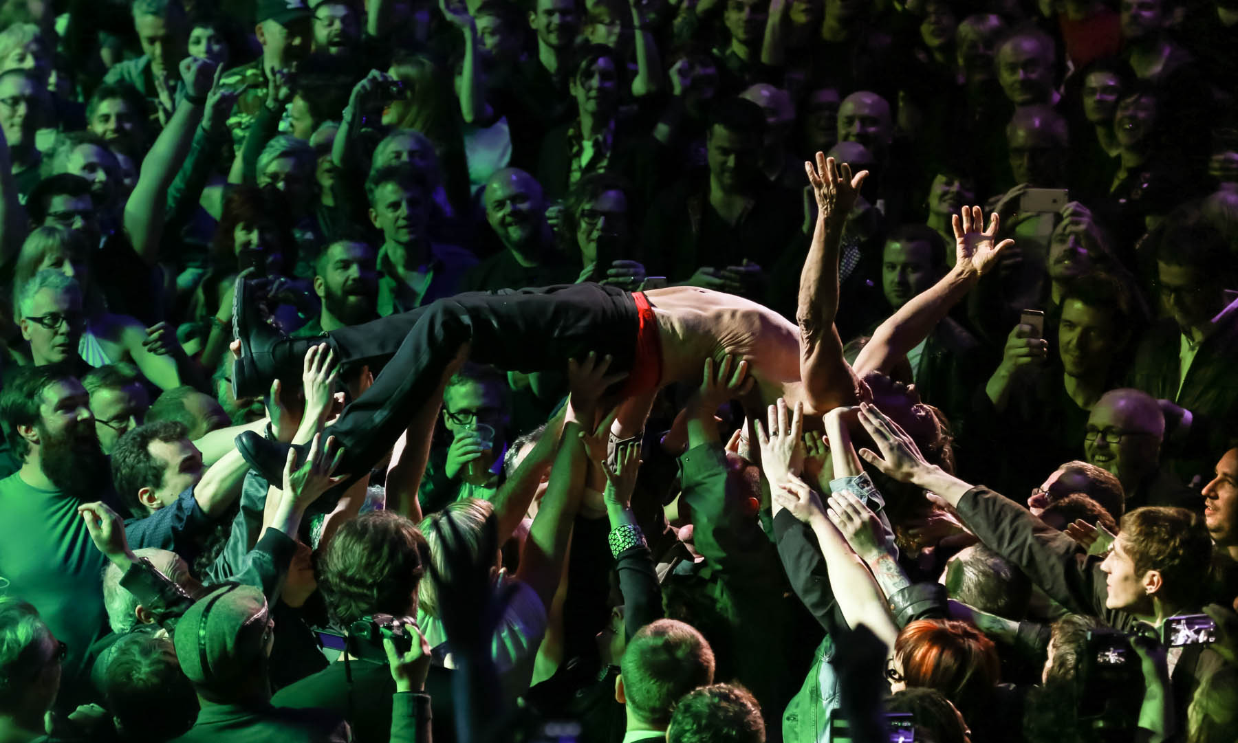 Iggy Pop at the Royal Albert Hall by Christie Goodwin