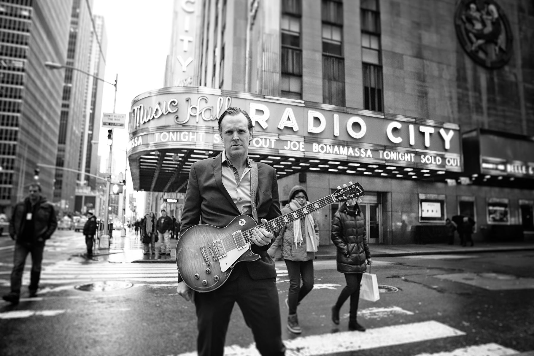 Joe Bonamassa at Radio City by Christie Goodwin