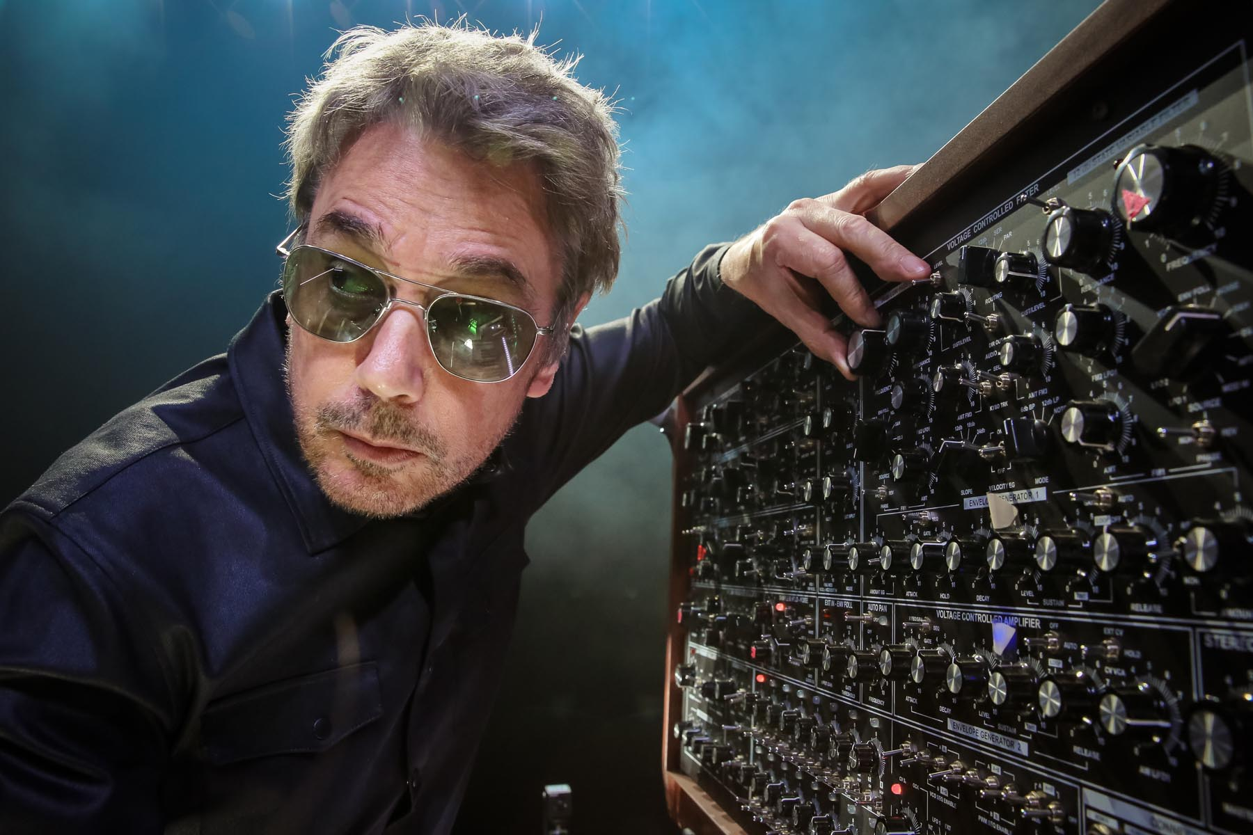 Jean Michel Jarre in London by Christie Goodwin