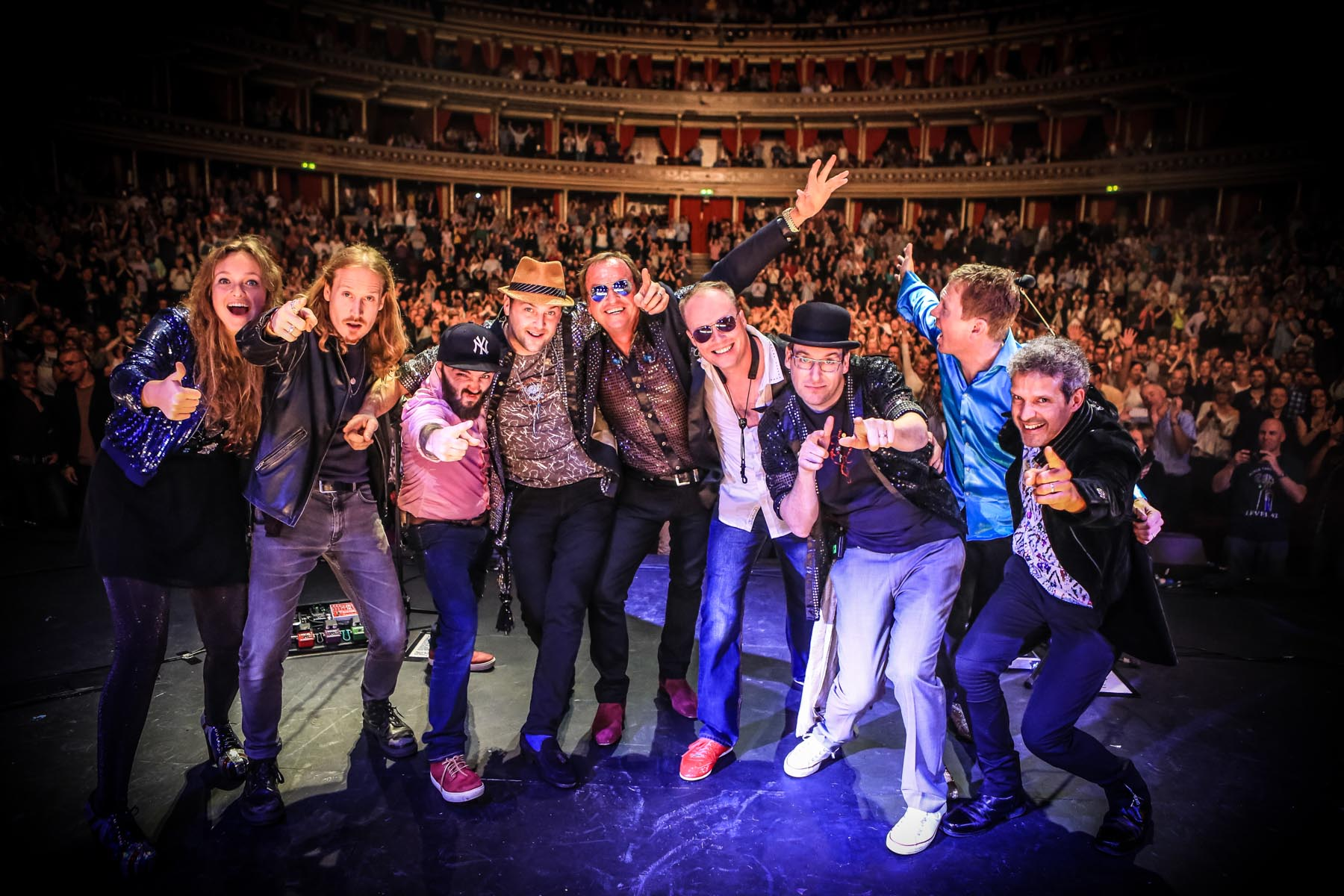 Level 42 at the Royal Albert Hall by Christie Goodwin