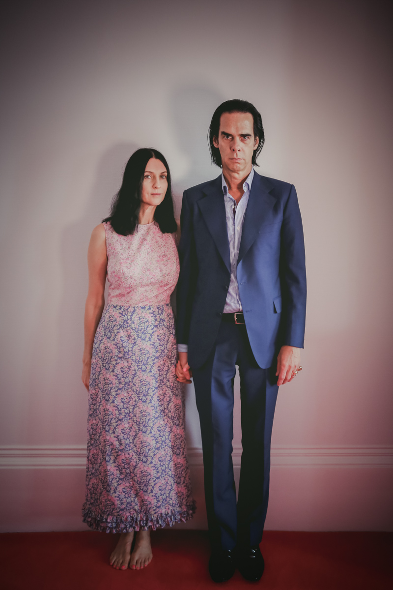 Nick Cave with his wife Susie Bick by Christie Goodwin