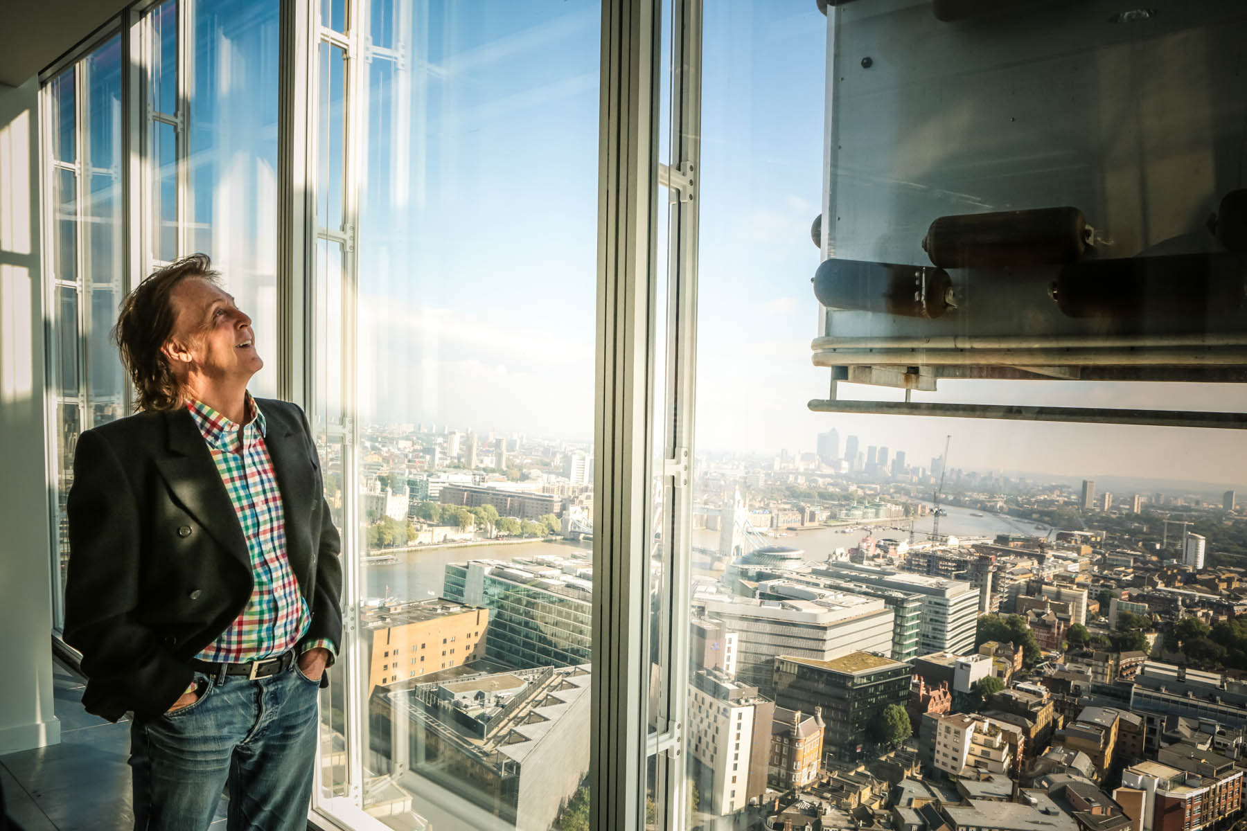 Paul McCartney at the Shard by Christie Goodwin
