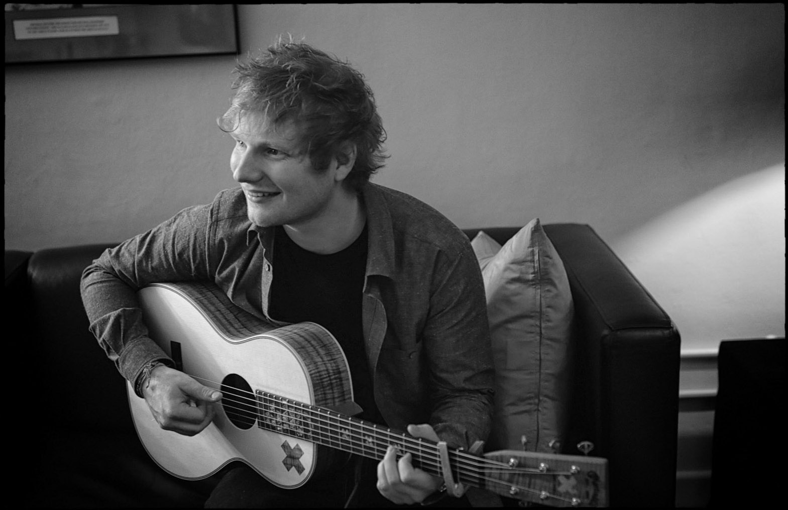 Ed Sheeran backstage at the Royal Albert Hall by Christie Goodwin