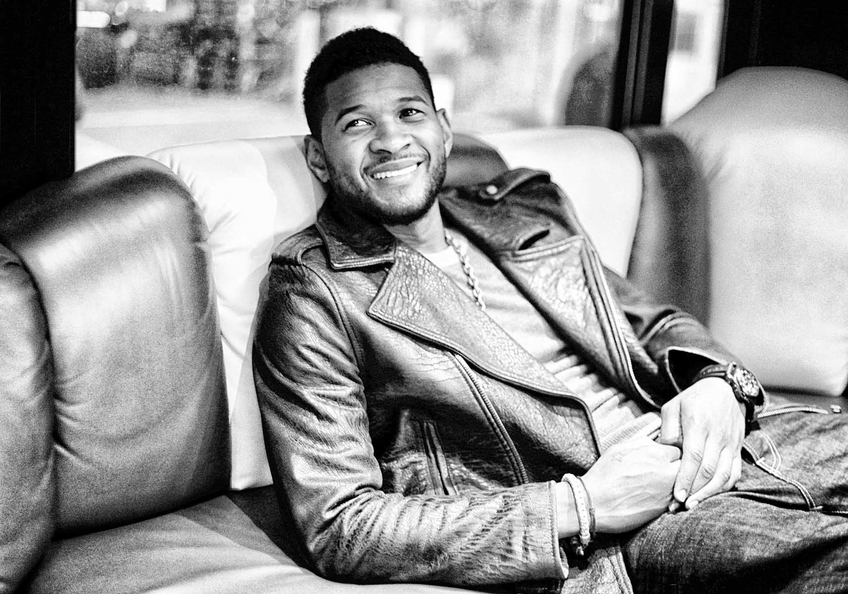 Usher on the Tourbus by Christie Goodwin