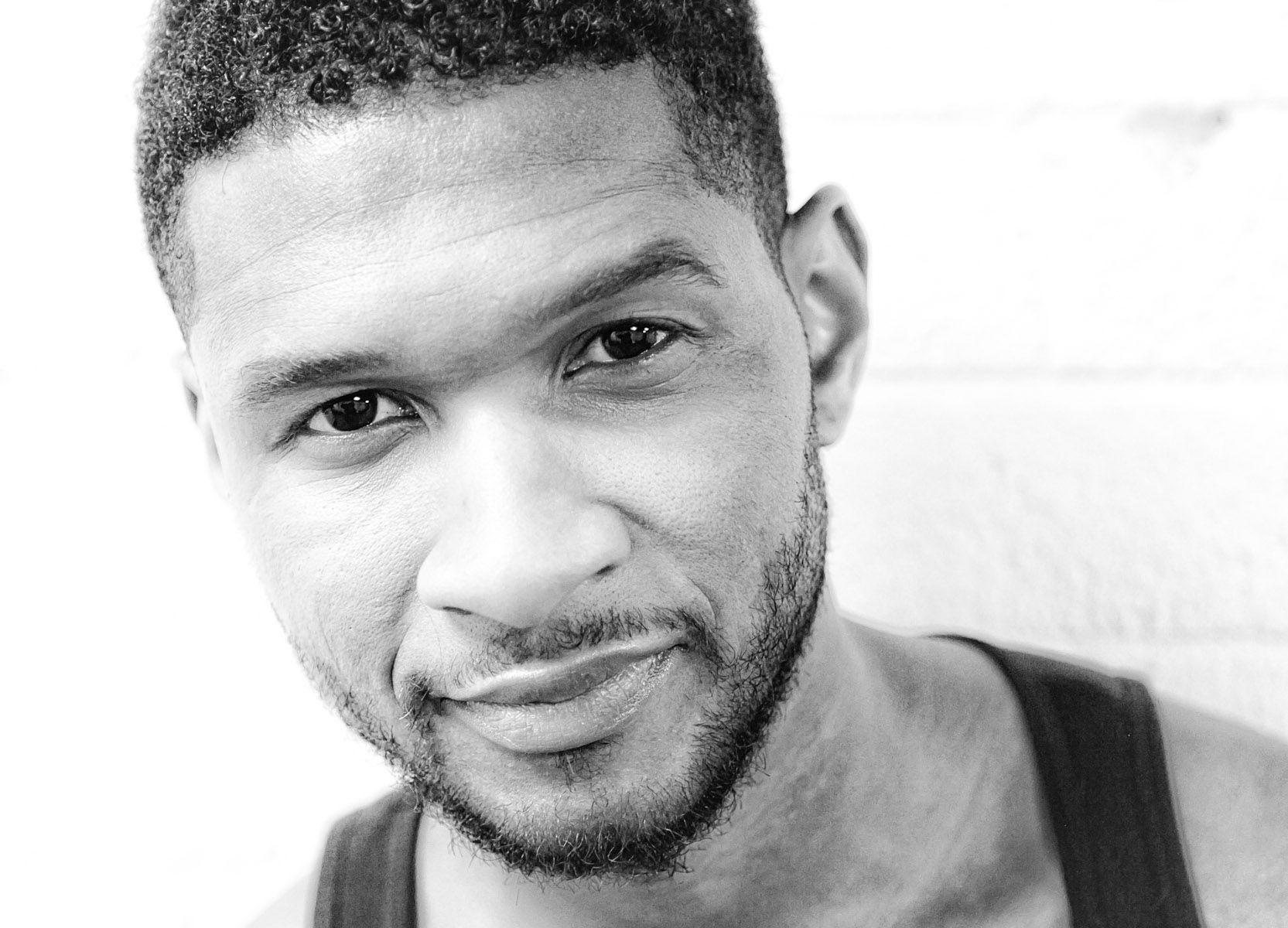 Usher portrait by Christie Goodwin