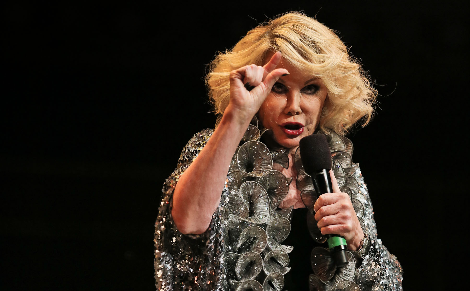 Joan Rivers at the Royal Albert hall by Christie Goodwin